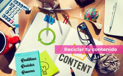 Reciclar tu contenido digital